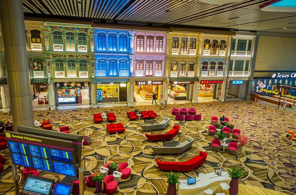 Changi Airport Terminal 4 Transit Hall