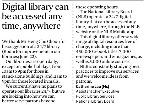 Digital Library on Straits Times